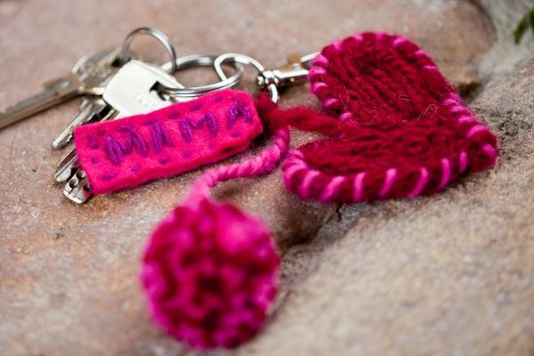 Kostenlose Anleitung Schlüsselanhänger Für Mama Selbermachen