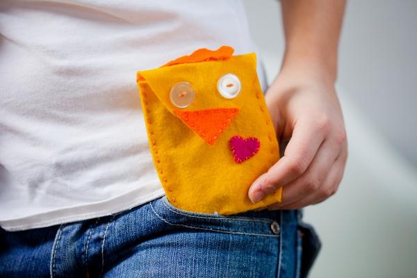 Kostenlose Anleitung Genähte Geldbörse Aus Filz Für Kinder Kinittide